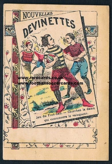 1870s rugby vignette from France